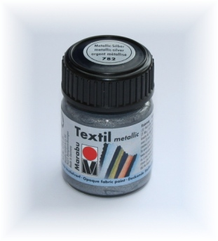 marabu textil metallic stoffmalfarbe im gl schen mit glitzereffekt. Black Bedroom Furniture Sets. Home Design Ideas