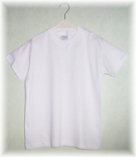 weisse kinder t shirts aus baumwolle zum bemalen mit stoffmalfarben. Black Bedroom Furniture Sets. Home Design Ideas