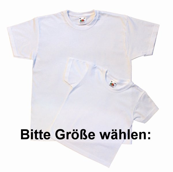 wei e kinder t shirts aus baumwolle zum bemalen in kindergr en tshirts f r kids unbedruckt hier. Black Bedroom Furniture Sets. Home Design Ideas